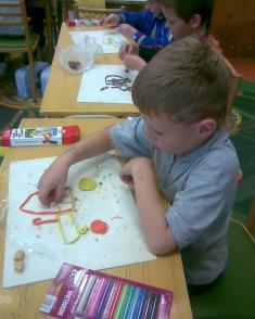 praktické činnosti 1. a 2. třída