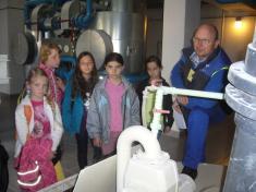 Exkurze do úpravny vody v Milíkově