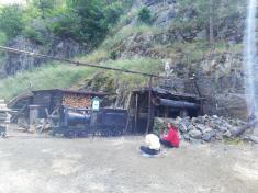 Exkurze osmáků v Hornickém skanzenu ve Stříbře